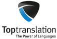 Website Toptranslation GmbH